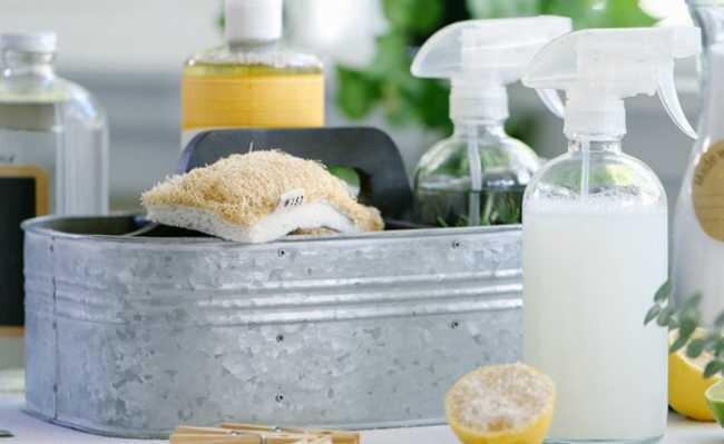 Receitas de produtos naturais para limpeza